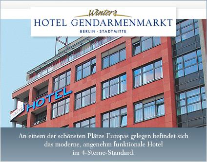Winters Gendarmenmarkt Berlin Hotel