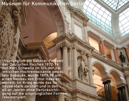 museum f r kommunikation berlin museum museen event nightlife berlin. Black Bedroom Furniture Sets. Home Design Ideas
