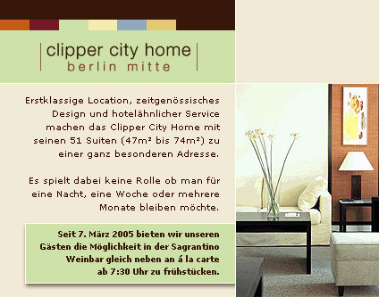 Clipper City Home Berlin-Mitte